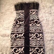 Auc Nwot Nicole Miller Collection Silk Cocktail Dress Unique Rare Size 0 Photo