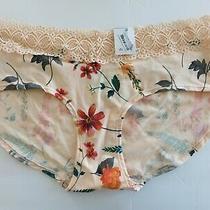 Auden Size Xl(16)  Bikini Panty Floral Print Lace Trim (548) Photo