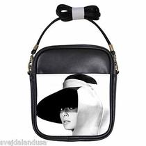 Audrey Hepburn Breakfast at Tiffany's 4 Leather Sling Bag Small Purse Photo