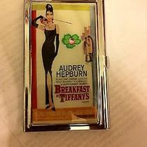 Audrey Hepburn Breakfast at Tiffany's Business Card Holder Credit Card Case Photo