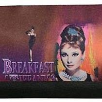 Audrey Hepburn Breakfast at Tiffany's  Checkbook Wallet Billfold Nwt Photo
