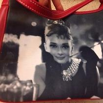 Audrey Hepburn Breakfast at Tiffany's Handbag Red Purse Shoulder Strap Women's Photo