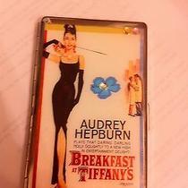 Audrey Hepburn Breakfast at Tiffany's Mirror Tissue Cigarette Case Card Holder Photo