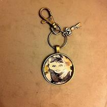 Audrey Hepburn Breakfast at Tiffany's Vintage Finish Keychain Swivel Clip  Key Photo