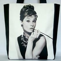Audrey Hepburn Breakfast at Tiffanys Retro Classic Tote Shoulder Bag Purse Photo