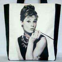Audrey Hepburn Breakfast at Tiffanys Retro Classic Tote Shoulder Bag Purse Photo
