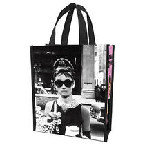 Audrey Hepburn - Breakfast at Tiffanys - Reusable Shopping Tote/gift Bag 92073 Photo