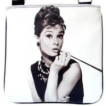 Audrey Hepburn Breakfast at Tiffanys Sling Cross Body Bag Purse Photo