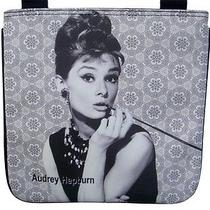 Audrey Hepburn Breakfast at Tiffanys Sling Cross Body Messenger Bag Purse Photo