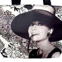 Audrey Hepburn Breakfast at Tiffanys Wide Shoulder Bag Tote Purse Photo