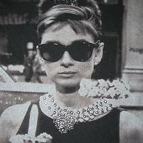 Audrey Hepburn-Junior's Xs-T-Shirt-Embellished-Breakfast at Tiffany's-Retro Feel Photo