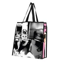 Audrey Hepburn Large Reusable Shopping Tote Licensed Vandor Tiffany's Brand New Photo