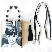 Audrey Hepburn Limited Edition Cigar Box Handbag Purse Breakfast at Tiffany's Photo