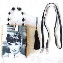 Audrey Hepburn Limited Edition Cigar Box Handbag Purse Breakfast at Tiffany's Photo