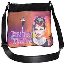 Audrey Hepburn Messenger Bag Breakfast at Tiffany's New Inventory Photo