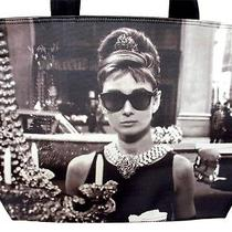Audrey Hepburn Rare Breakfast at Tiffanys Bag Tote Purse Handbag Photo