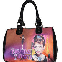 Audrey Hepburn Satchel Breakfast at Tiffany's New Inventory Photo