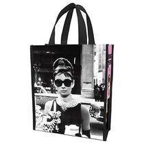 Audrey Hepburn Shopper Tote Small Breakfast at Tiffany's Photo