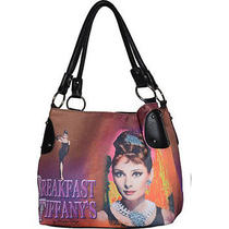 Audrey Hepburn Tote Bag Breakfast at Tiffany's Celebrity Handbag Free Shipping Photo