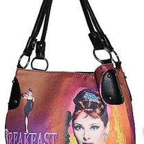 Audrey Hepburn Tote Bag Breakfast at Tiffany's New Inventory Photo