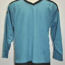 Augusta Sportswear Hockey Jersey Aqua/black Sz L New Photo