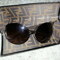 Aunthentic Fendi Sunglasses Fashion 705 5178s With Original Box and Packing  Photo