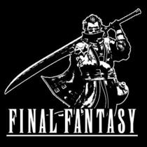 Auron T-Shirt  Final Fantasy Playstation Video Game Shirt  Photo