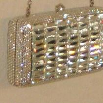 Austrian Swarovski Crystals White Diamond Clutch  Photo