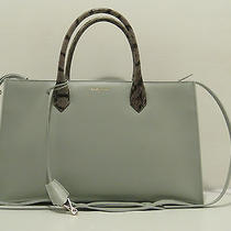 Auth Balenciaga Light Gray Color Bag Luxury  Photo
