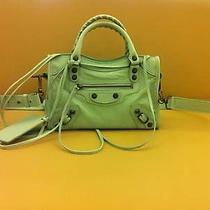 Auth Balenciaga Mini City Azure Bag Luxury Photo