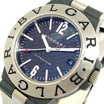 Auth Bulgari Wristwatches Ti38ta Titanium Watches (Y1099940) Photo
