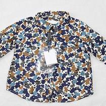 Auth Burberry Children Boy Flora Shirt 6m Photo