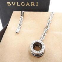 Auth Bvlgari Charm Key Chain B.zero Sterling Silver 925 Italy 10110612900 3026 Photo