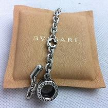 Auth Bvlgari Charm Key Chain B.zero Sterling Silver 925 Italy 5c181930 Photo
