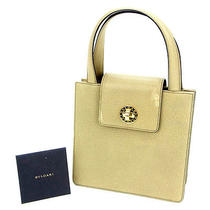 Auth Bvlgari Handbags and Other Leather J1857 Photo