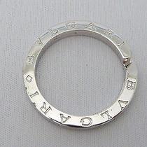 Auth Bvlgari Sterling Silver Key Ring E-3368 Photo
