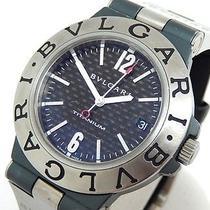 Auth Bvlgari Wristwatches Ti38ta Titanium X Rubber Watches (Y1155388) Photo
