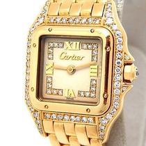 Auth Cartier K18yg /diamond Wrist Watches (Y1267554) Photo