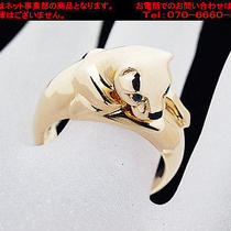 Auth Cartier Panther Motif Ring Size 6.57(usa)(S Y7139) Photo