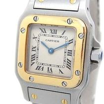 Auth Cartier Wristwatches Ss / Yg Watches (Y1351457) Photo