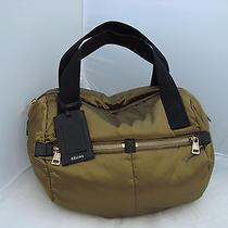Auth Celine Khaki Bowl Bag Borsa Sac Photo