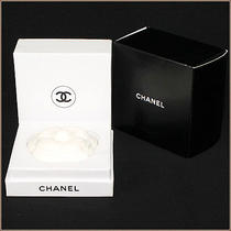 Auth Chanel Aroma Plate Vip Limited Novelty Ceramic White Not for Sale R04-137 Photo
