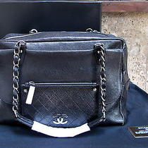 Auth Chanel Borsa/bag Black Lamb Leather Like a New With Dusty Bag 3650eur Photo