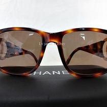 Auth Chanel Brown Sun Glasses Photo