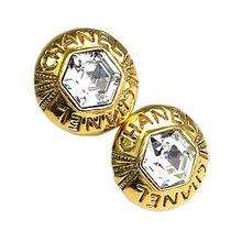 Auth Chanel Clip Earrings Metal Gold (Bf075326) Photo