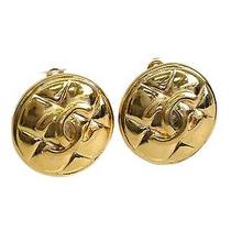 Auth Chanel Coco Clip Earrings Metal Gold (Bf076466) Photo