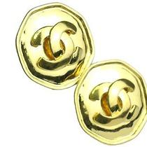 Auth Chanel Coco Earring Metal Gold (Bf072243) Photo