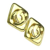 Auth Chanel Coco Earring Metal Gold (Bf072246) Photo