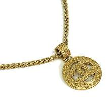Auth Chanel Coco Necklace Metal Gold (Bf076473) Photo