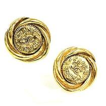 Auth Chanel Earring Metal Gold (Bf055746) Photo